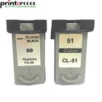 einkshop 2Pk PG 50 CL 51 For Canon PG 50 CL 51 Ink Cartridge For Canon Pixma MP160 MP150 MP170 MP180 MX300 MP450 MP460 MX318