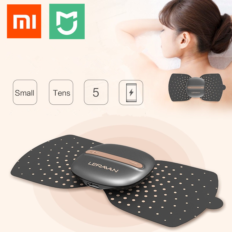 Xiaomi Mijia Newest LF Brand Electrical Stimulator Full Body Relax Muscle Therapy Massager Magic Massage Stickers Mi Smart Home replace stick for xiaomi mijia newest lf electrical stimulator full body relax muscle therapy massager magic massage stickers