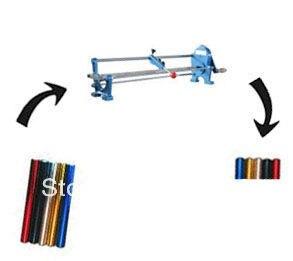 Manual Hot Foil Roll Cutter Cutting MachineManual Hot Foil Roll Cutter Cutting Machine