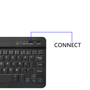 Image 4 - New Wireless Bluetooth  Laptop Keyboard Ultra Slim 7.9 in 59 Keys Rechargeable Portable Keypad For iPad iOS Android Windows PC