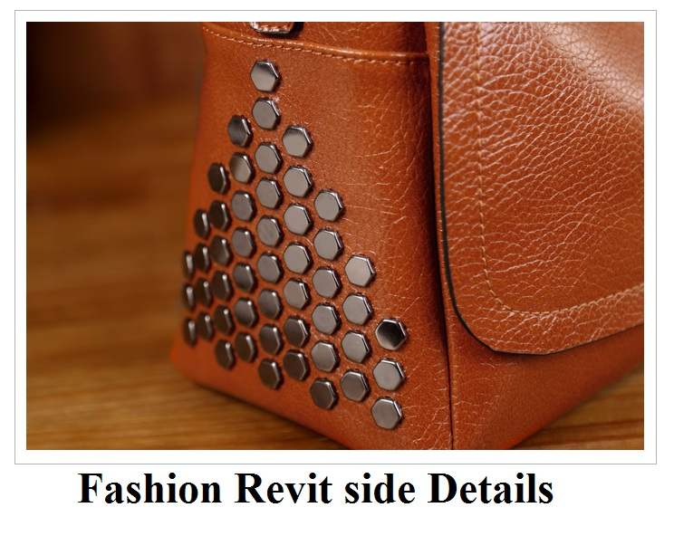 Fashion Women Genuine Leather Handbag Vintage Woman Bag 2017 Bag Designer Casual Ladies Crossbody Bags Shoulder Bag Female T12