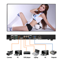 LVP613 светодиодный экран видео процессор сравнить LVP703 видео масштабирования для P4 P3 Светодиодный дисплей Видеопроцессор интерактивные свет