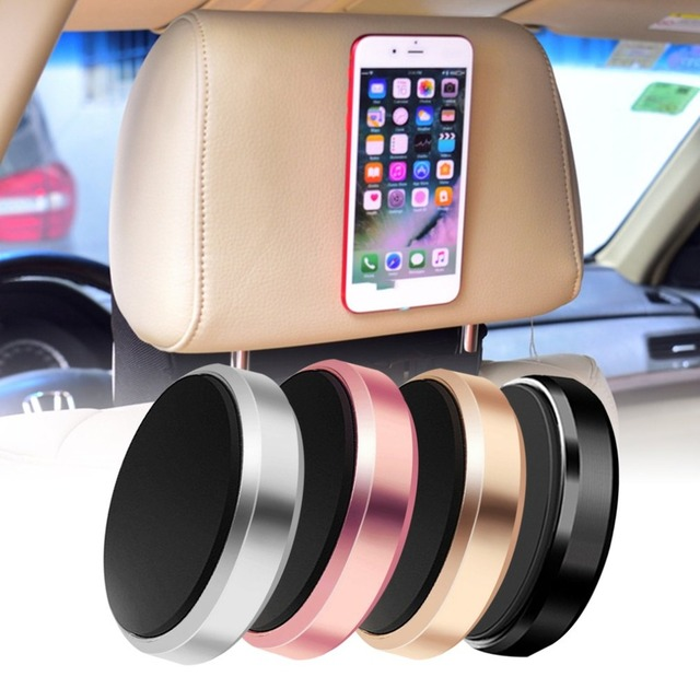 Magnetic Cell Phone Mount >> Us 1 21 35 Off Magnetic Mobile Phone Holder Car Dashboard Mobile Bracket Cell Phone Mount Holder Stand Universal Magnet Wall Sticker For Iphone In