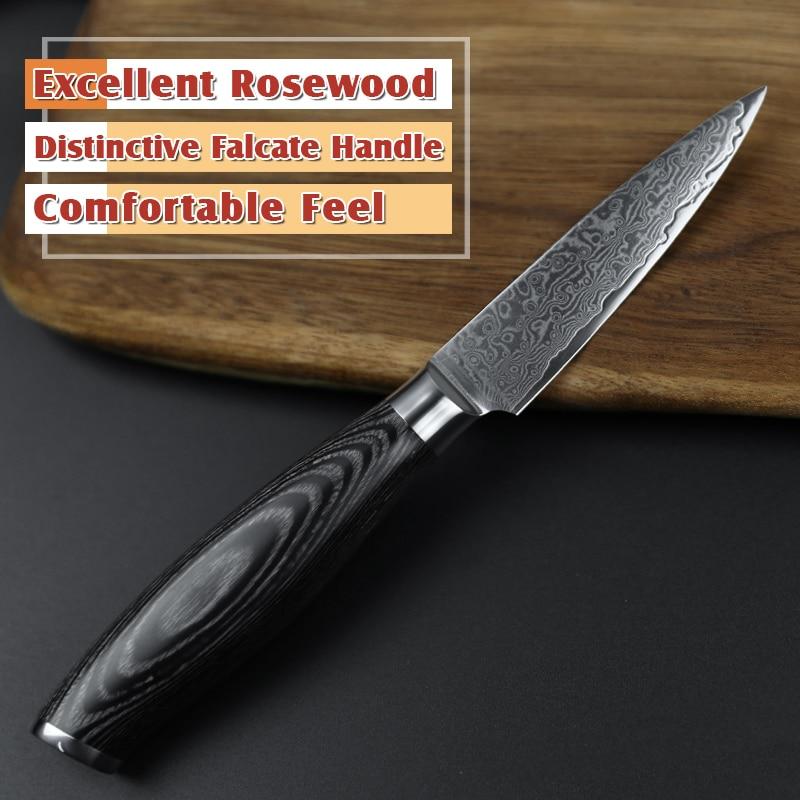 XINZUO 5pcs Kuhinjski noževi set 67 slojeva japanski VG10 Damask - Kuhinja, blagovaonica i bar - Foto 2