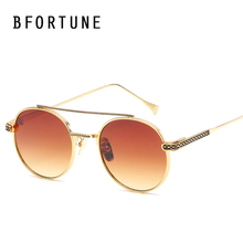 BFORTUNE Round Sunglasses Women Brand Designer Mirror Retro Shades Sun Glasses Female UV400 Lentes font b