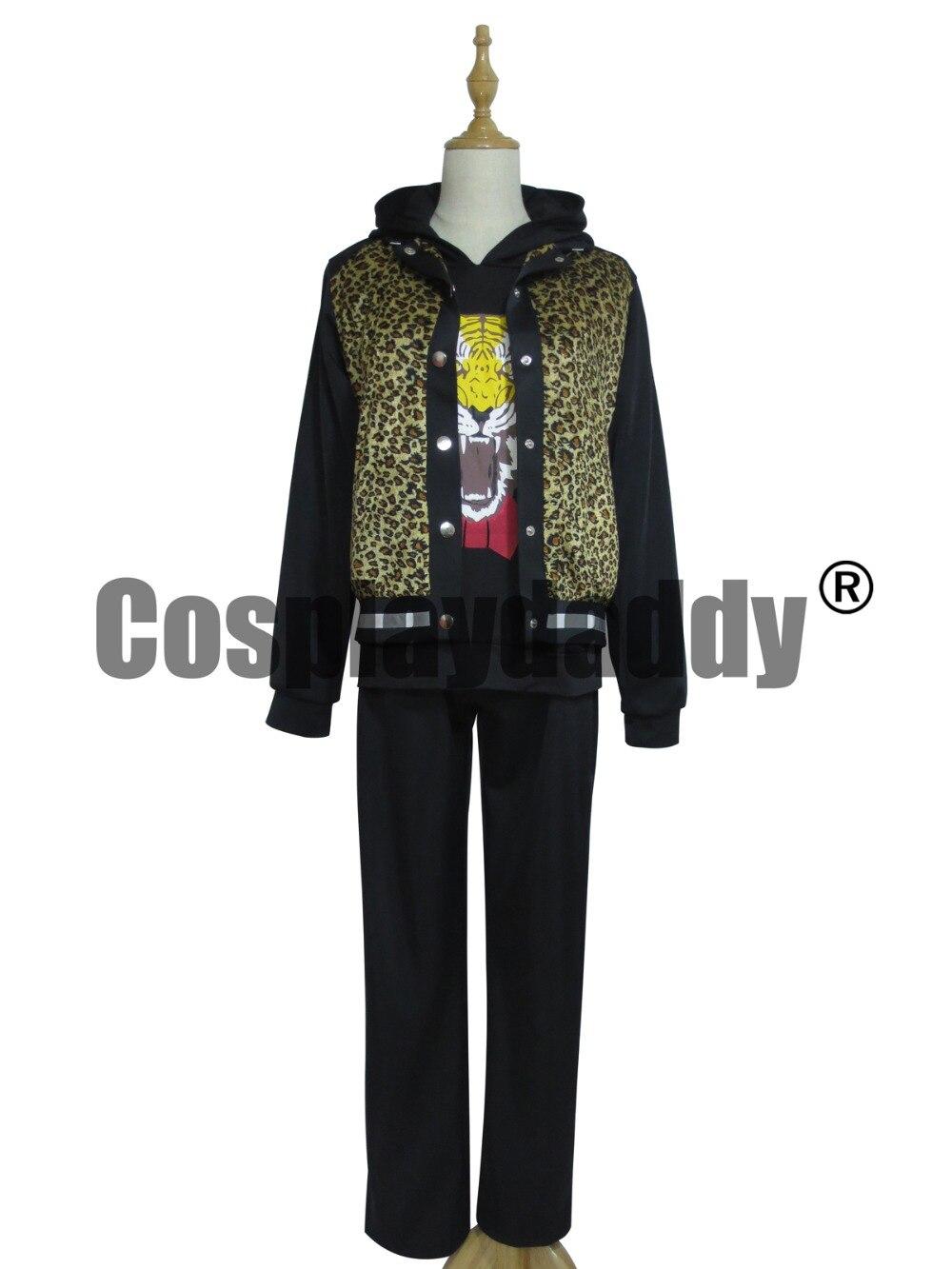 Yuri! na Ice Yuri Plisetsky denní černé oblek Halloween Cosplay kostým