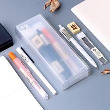 M&G COLOR OF NATURE 7pcs/lot Stationery Set including Gel Pen Highlighter Mechanical Pencil Lead Ink Refill Eraser Case