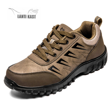 цена Men's Sneakers Breathable Hiking Shoes Outdoor Mountain Climbing Trekking Hunting Shoes Tactical Shoes zapatillas hombre онлайн в 2017 году