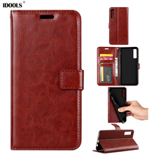 hot deal buy idools wallet case for samsung galaxy a7 2018 a750 cover pu leather 6.0'' phone bags cases for samsung galaxy a7 2018 coque
