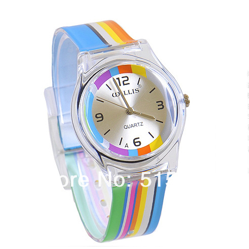 Willis women watches casual quartz watch jelly table candy color child watch fashion watch 0150 jeanne willis wild child