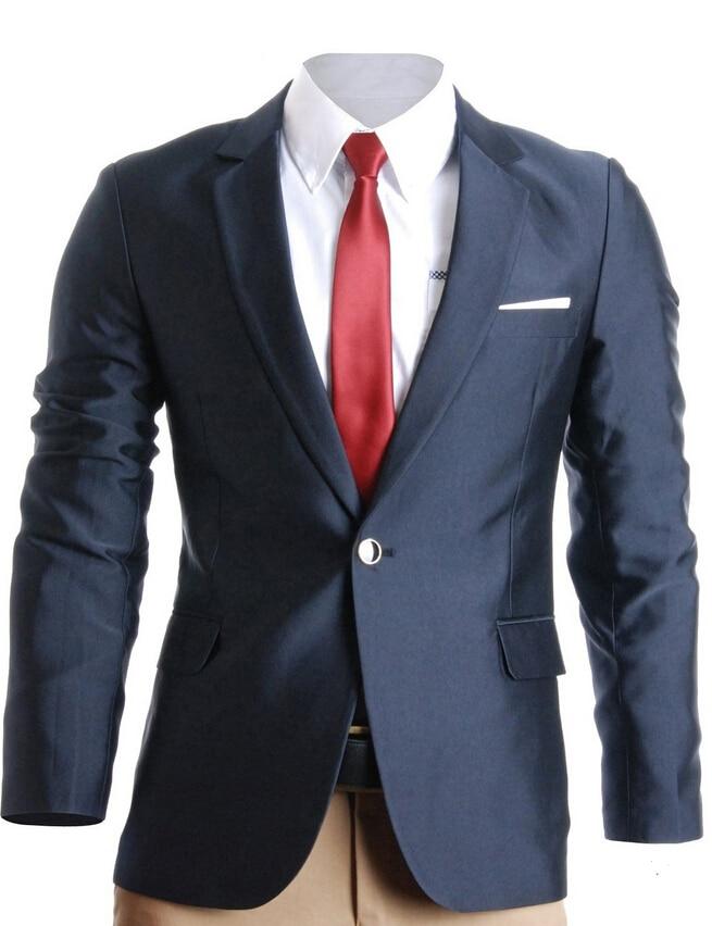 High grade incision lapel coat blazer men wear formal dress to ...