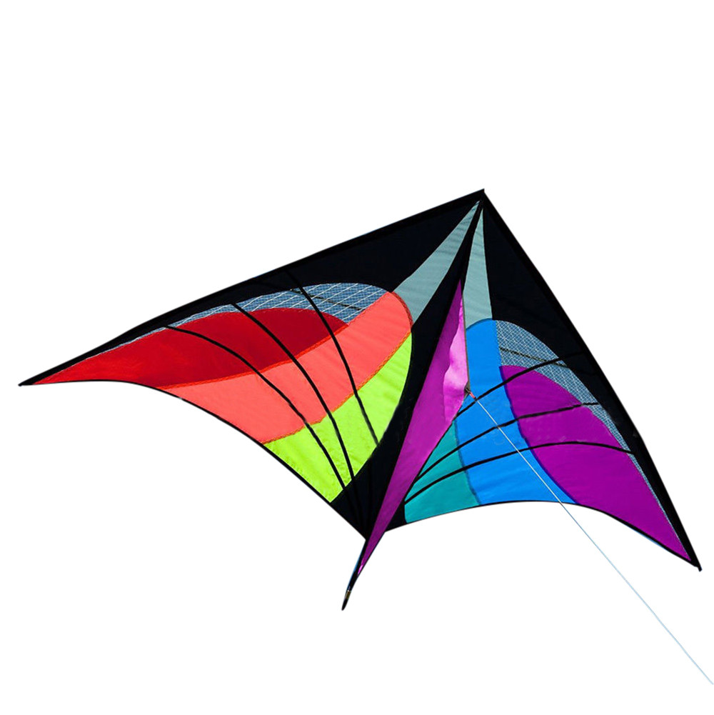 New Soft Cute Outdoor Sport Fun Toys Novelty Dual Line Delta Kite New Stunt Power Kite Kites & Accessories Toys & Hobbies