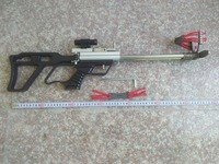 Mini Creative Recanting Slingsho Bore Mechanical Slingshot Outdoor Shooting Toys Hunting Tools Creative Slingshot DIY