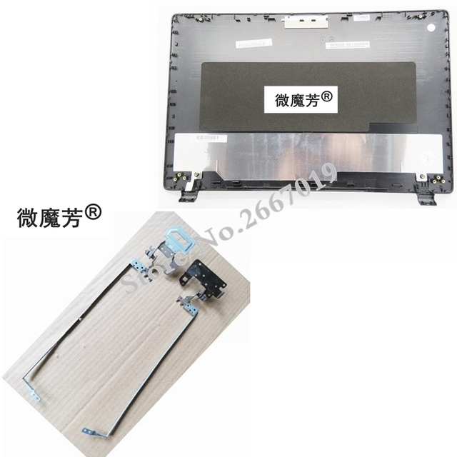 For ACER E5-571 E5-551 E5-521 E5-511 E5-511G E5-511P E5-551G E5-571G E5-531 Laptop Top LCD Cover New Black A shell/LCD hinges