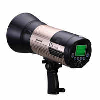NiceFoto N6 600Ws GN89 HSS 1/8000S Flash Light with 6600mAh Battery ETTL for Canon and i-TTL for Nikon 2.5s Fast Recycling