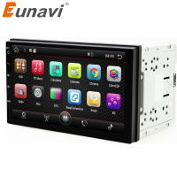 2 Din 7 Inch Android 4 4 Universal Car DVD Player Juke Qashqai Almera X Trail