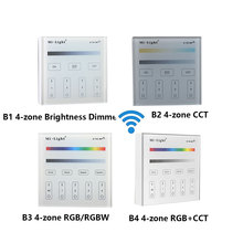 Milight B3 4-Zone RGB/RGBW and brightness dimming Smart Panel Remote Controller control for led strip light ribbon lamp or bulb