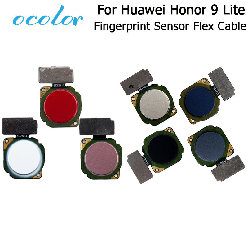Ocolor For Huawei Honor 9 Lite Fingerprint Scanner Sensor Flex Cable For Huawei Honor 9 Lite Replacement Parts High Quality