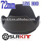 DSLRKIT 72mm Lens Hood Petal Crown Flower Shape for Canon Nikon Olympus (67mm lens thread size)