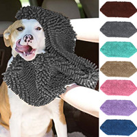 Hoopet 80 X 35 Cm Ultra Soft Absorbent Microfiber Pet Dog Cat Puppy Bath Drying Towel