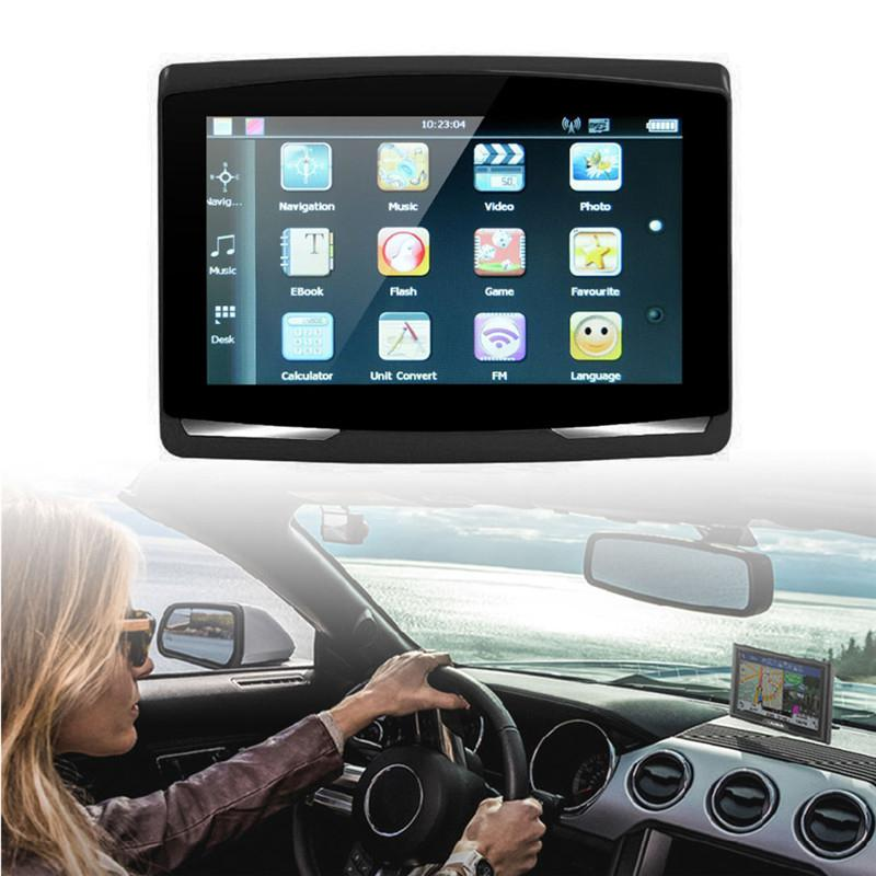 Image 5 - Universal Portable 5 inch Car GPS Navigation Sat Nav 8G CPU800M Wince6.0+FM Transmitter+Multi languages Car Compass-in Vehicle GPS from Automobiles & Motorcycles