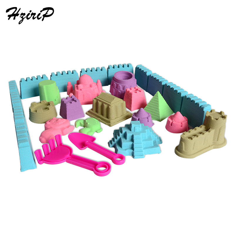 HziriP 2 KG argile ultra-légère sable coloré bricolage éducatif Speelgoed Voor Kinderen Slime pâte à modeler douce Polymeer pour les enfants