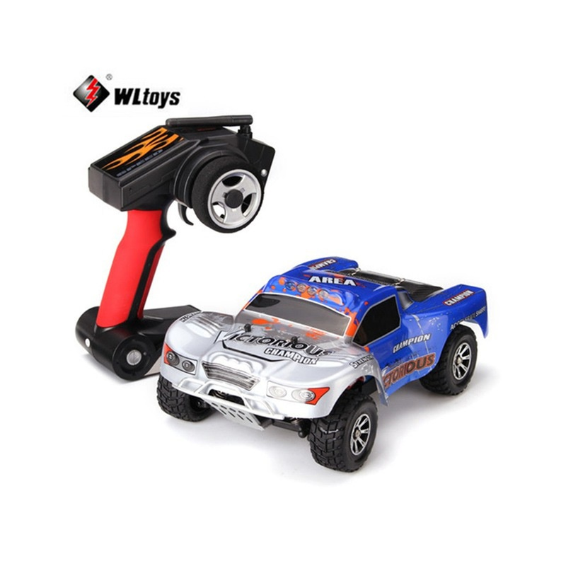 WLTOYS A969-B 1:18 70km/h 4-Wheel-Drive RC Car Short Course Racing Car Off-Road Buggy Climbing Cars for Kids Toy wltoys spare 2pcs drive shaft for a202 rc off road car