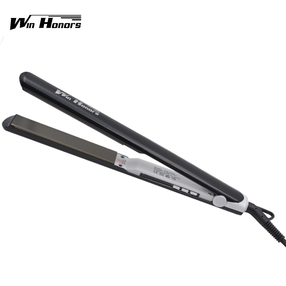 High quality professional fast electric nano titanium hair straightener flat iron for home use high quality fast hair straightener nano titanium plates professional hair straightener iron hair iron u style styling tools