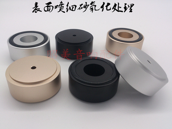All aluminum alloy diameter 49 high 22 audio power amplifier feet speaker foot nail tripod shock absorber cushions B 49X22MM-10P