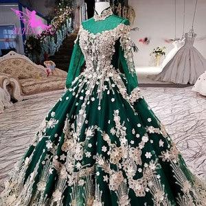 Image 1 - AIJINGYU Wedding Dresses Belts Derss Satin Ball Costume Belts Imported Rustic Brides & Gown Wedding Dress