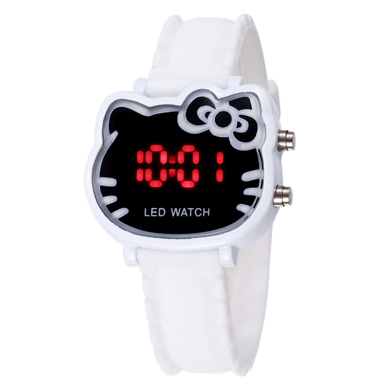 Kids Gift Cartoon Digital Watch For Girls Kids Lovely Silicone Children Wristwatch Relogio Infantil Child Clock