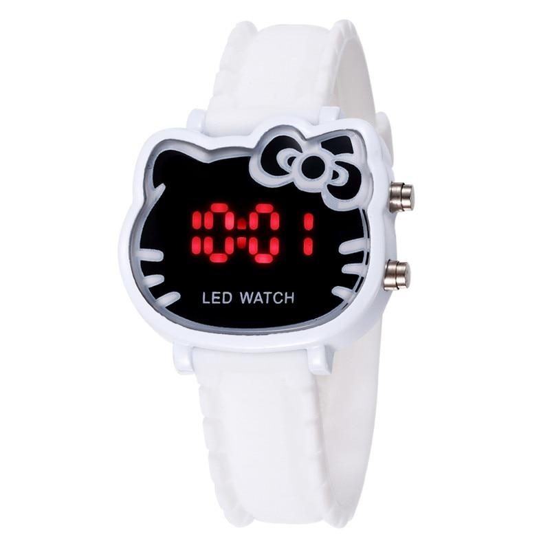 Kids Gift Cartoon Digital Watch For Girls Kids Lovely Silicone Children Wristwatch Relogio Infantil Child Clock