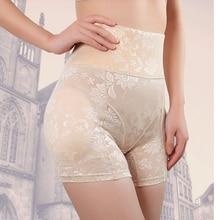 plus size 4xl plus size high waist butt lifter waist control tummy tuck fake removable pads underwear buttock enhancer