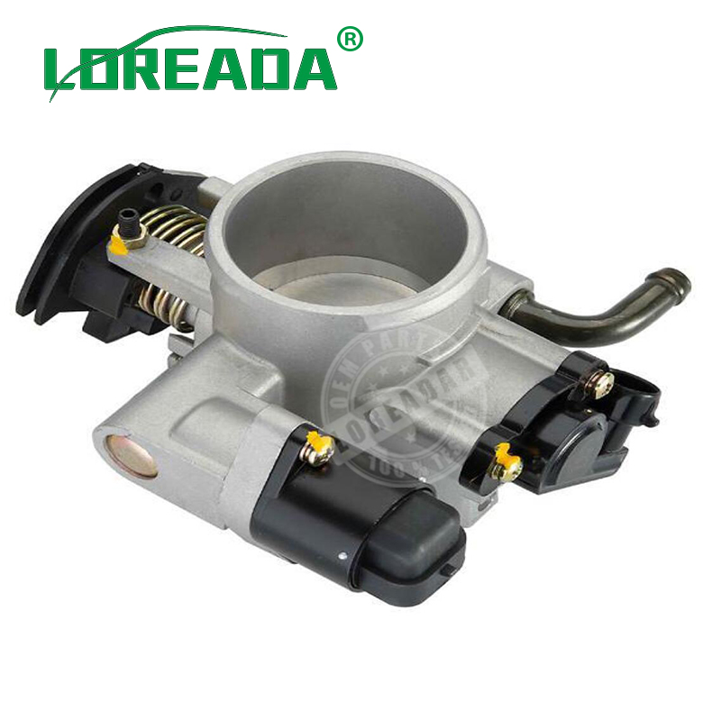 Brand New Throttle body D50E for DELPHI system Engine BUICK EXCELLE 1.6L Bore size 50mm Throttle valve assembly brand new throttle body for camry scion toyota rav4 matrix 2 4l 2azfe engine 220300h031 2203028071 oem quality fast shipping