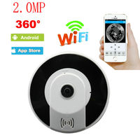 2 0MP 360 Degree VR Wireless Home IPC 960P Wireless Indoor Fisheye Panoramic WIFI IP Camera