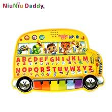 Ніуні Падді Дитячий мультфільм автомобільного електронного навчання машини Дитяче просвітлення Раннє дитяче малювання Toy Learning Machines
