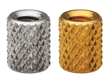 3000pcs STKB-M4-10/12/15/18 Molded-in Threaded Inserts Thru-Threaded Knurled-Metric Brass Nuts PEM Std Knurled Nuts Wholesale 100pcs m4 4 5 6 8 od 5 2mm m4 injection molding brass knurled thread inserts nuts