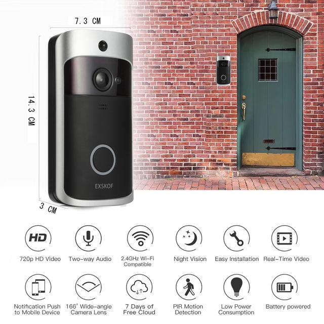 Ip Video Intercom Wi-Fi Video Door Phone Door