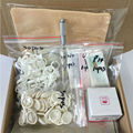 Kit de cejas maquillaje permanente máquina de tatuaje de cejas tatuaje microblading pen kits con 30 unids aguja hoja de aprendiz de usuario