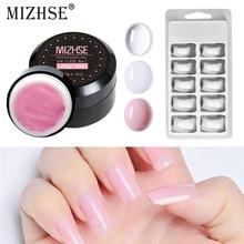 MIZHSE Manicure Set Gel Polish Kits Vernis Semi Permanent Poly Gel Nail