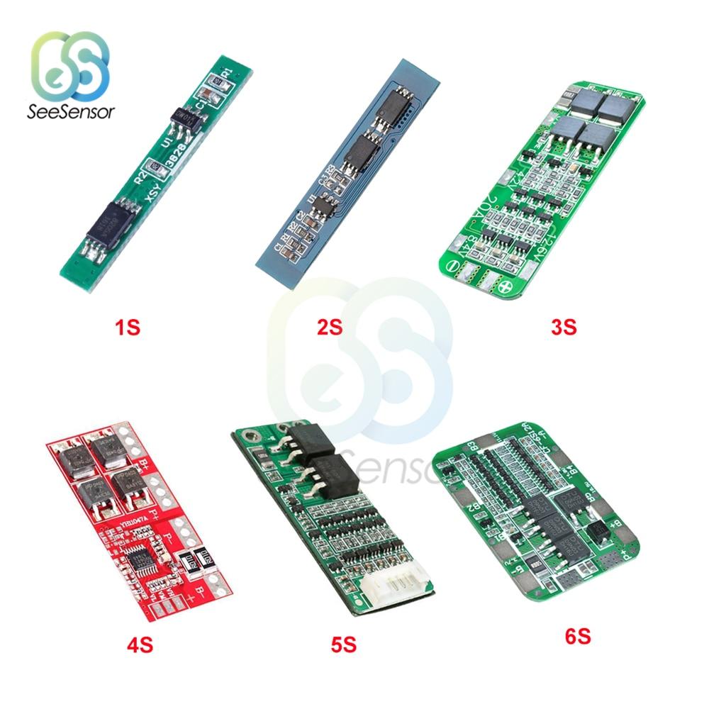 1S 2.5A 2S 3A 3S 20A 4S 30A 5S 15A Li-ion Lithium Battery 18650 Charger PCB BMS Protection Board Drill Motor Lipo Cell Module