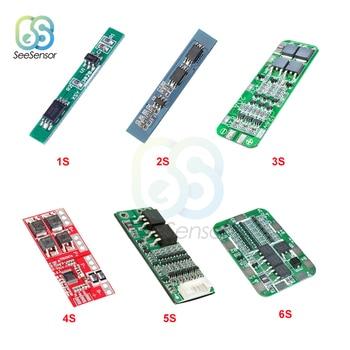 1S 2.5A 2S 3A 3S 20A 4S 30A 5S 15A Li-ion Lithium Battery 18650 Charger PCB BMS Protection Board Drill Motor Lipo Cell Module недорого