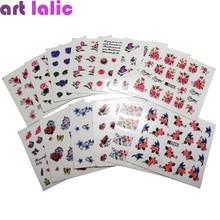 50 sheets Mixed Designs Water Transfer Nail Art Sticker