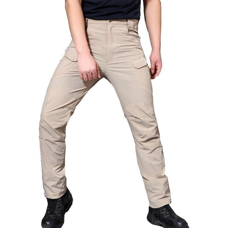 PAVE HAWK новые летние IX7 эластичные быстро высыхающая Штаны Открытый штаны для активного отдыха дышащая ткань Военная Тактическая Боевая Штан...