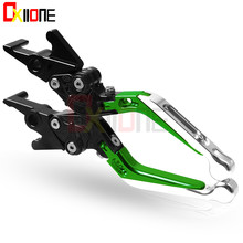 Motorcycle Accessories CNC adjustable brake clutch levers For Kawasaki BN125 BN 125 ELIMINATOR 2003-2008 2004 2005 2006 2007
