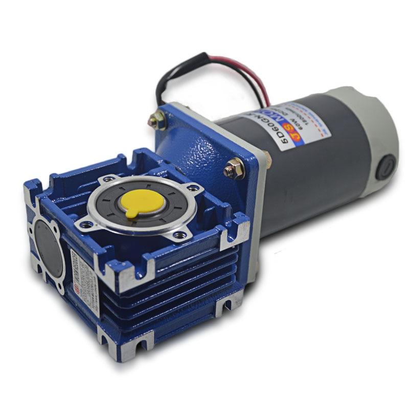 5D60GN-RV30 DC12V/24V 60W 1800rpm DC gear motor worm gear gearbox high torque gear motor / output shaft diameter 14mm jx pdi 5521mg 20kg high torque metal gear digital servo for rc model