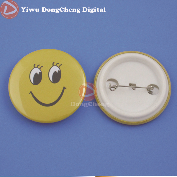 100sets of 1.75(44mm) Plastic Pin Button Parts,free shipping free shipping 44mm 200 sets magnet buttons material