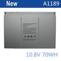6600mAh Laptop Battery A1189 For Apple MacBook Pro 17 Inch MA092T MA897X A MA611B A1151 A1212