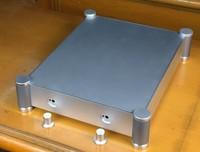 BZ4307T aluminum amplifier chassis Tube amp amplifier chassis AMP case Enclosure   Box DIY (342*84*340mm)