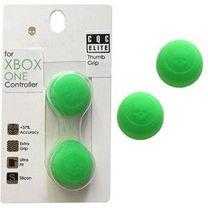 Image 5 - Xbox One için silikon Analog Thumb çubuk kapaklar Xbox One denetleyicisi için kafatası ve Co. CQC Elite Thumbstick kapak Xbox One Gamepad